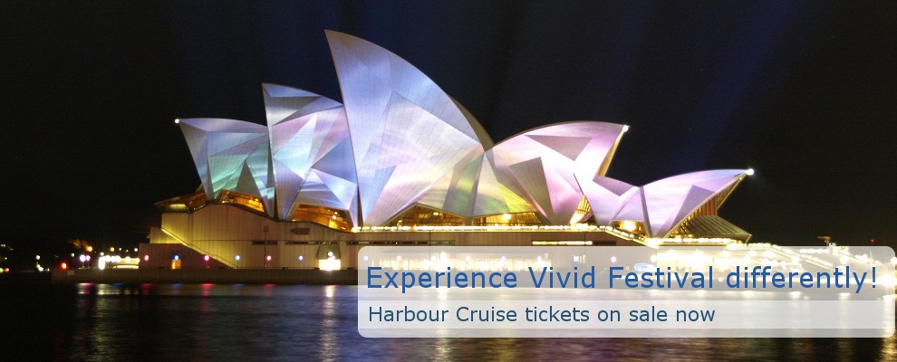 Sydney Heritage Fleet Cruises for Vivid Festival
