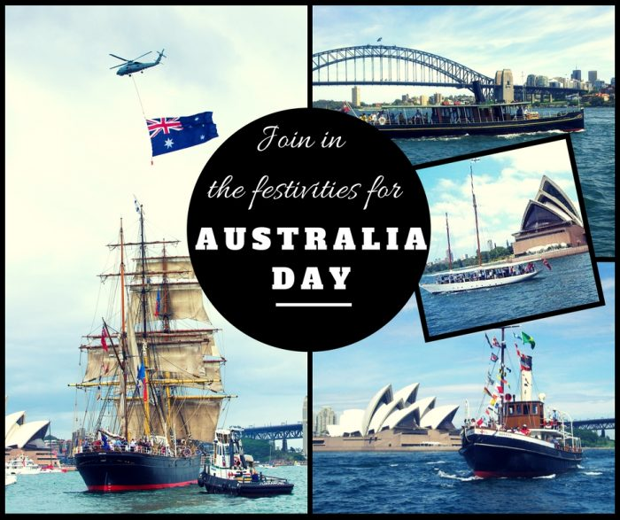Australia Day with Sydney Heritage Fleet