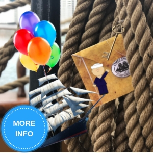 Celebrate your child's birthday party on board <i>James Craig</i>