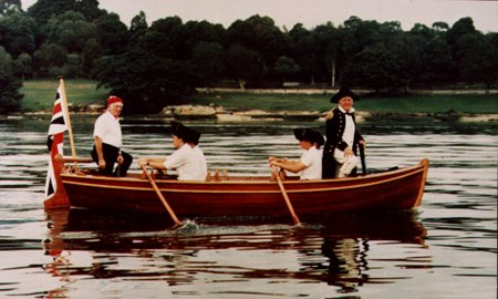 My Jolly Boat, a replica jollyboat from about 1787